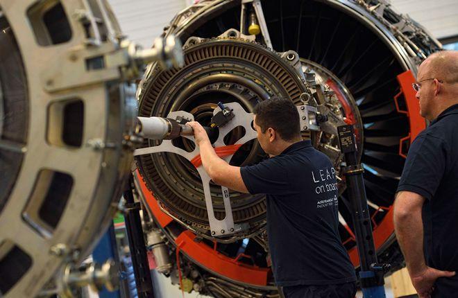 ремонт двигателя AFI KLM E&M
