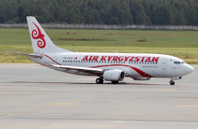 Правительство Киргизии не справляется с развитием авиакомпании Air Kyrgyzstan