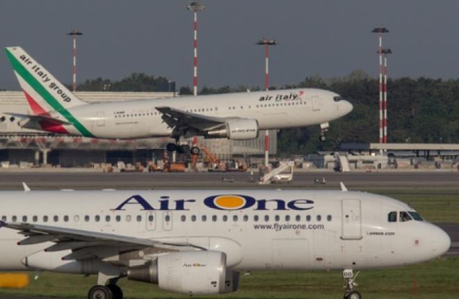 "Alitalia ликвидирет низкотарифную ""дочку"" Air One"