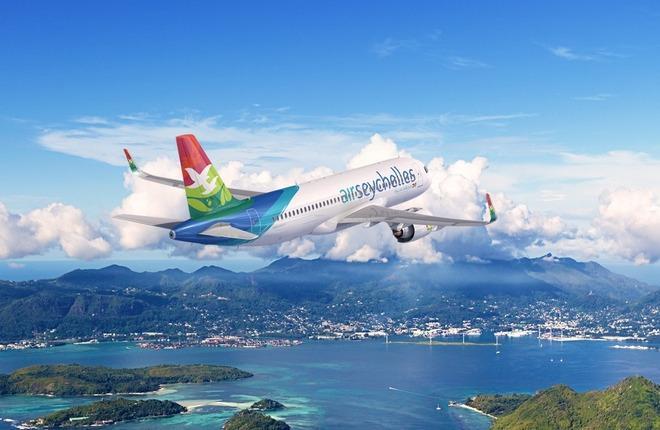 самолет авиакомпании Air Seychelles