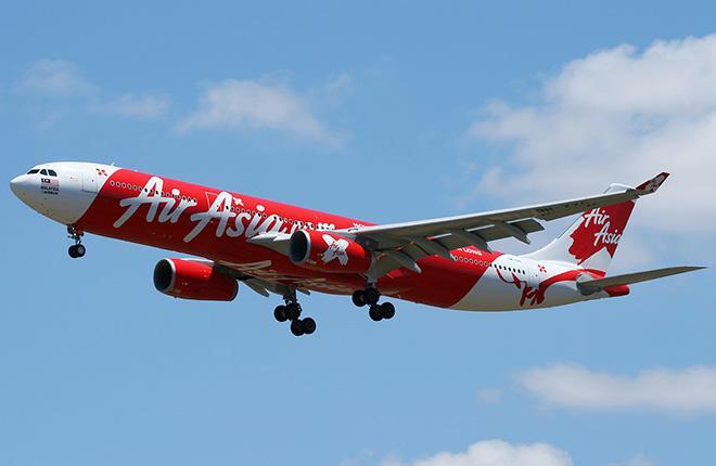 Airbus A330-300 авиакомпании AirAsia X