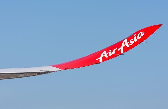законцовка крыла самолета Airbus A330 авиакомпании AirAsia X