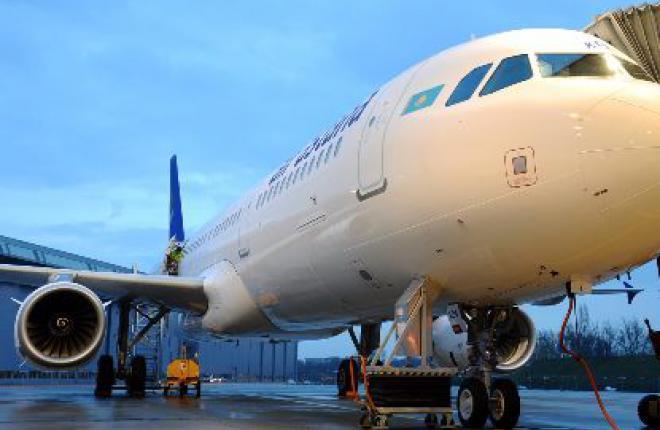 Авиакомпания Air Astana получила первый собственный самолет Airbus A321