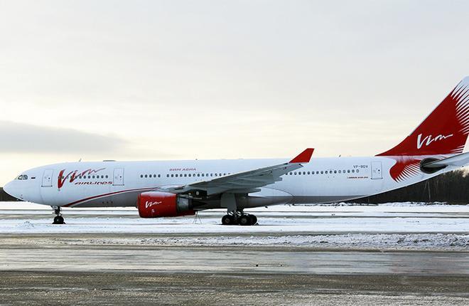"""Авиакомпания """"ВИМ-авиа"""" получила самолет Airbus A330"""
