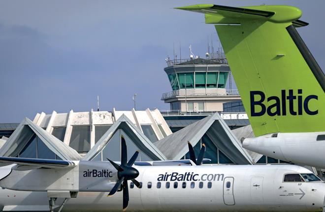 Авиакомпания airBaltic