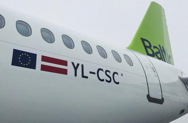 Парк самолетов CS300 авиакомпании airBaltic вырос до трех бортов