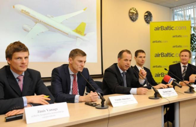 Авиакомпания airBaltic покупает 10 самолетов Bombardier CSeries