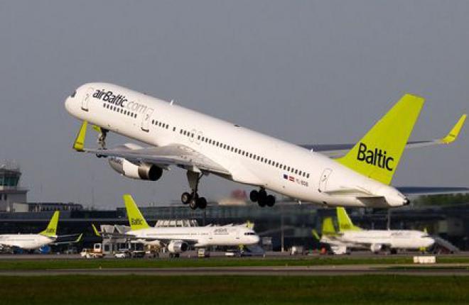 «Газпромнефть-Аэро» начала заправку авиакомпании AirBaltic в европейских аэропор