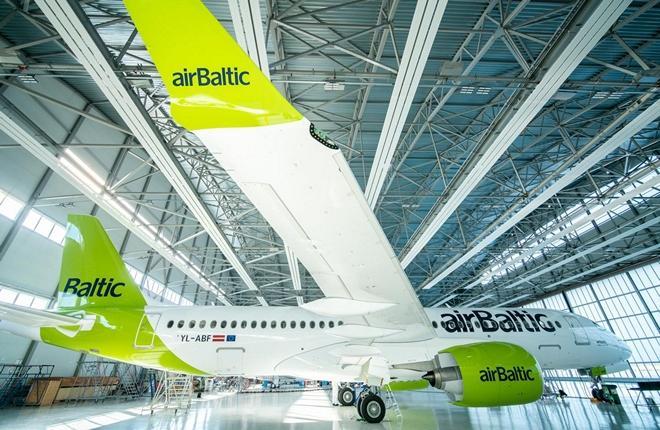 airBaltic получила 32-й самолет Airbus A220-300 с регистрационным номером YL-ABF (заводской серийный номер (MSN 55133)