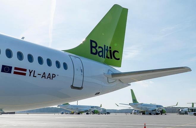 16-й A220-300 airBaltic