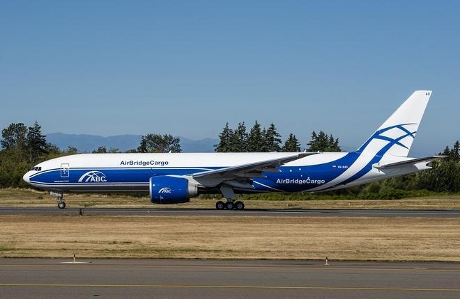 Boeing 777F AirBridgeCargo