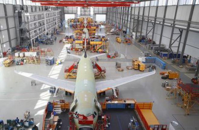 ОАК и EADS заморозили конвертацию Airbus А320