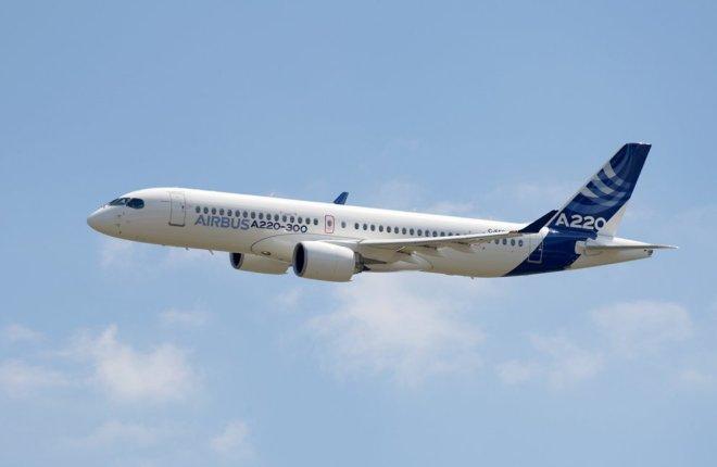 CS300 в ливрее Airbus презентована как A220-300