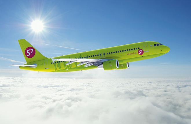 Прирост пассажиропотока у авиакомпаний S7 Airlines ускорился до 27%