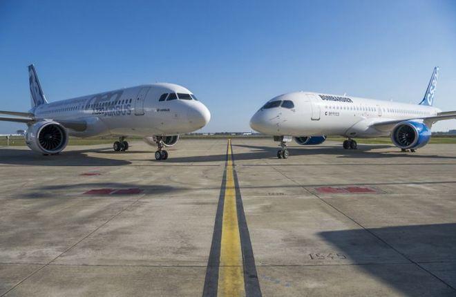 Bombardier CSeries и Airbus A320neo