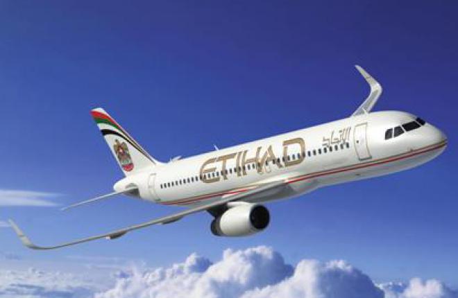 Самолеты А320 авиакомпании Etihad Airways оснастят законцовками крыла sharklet