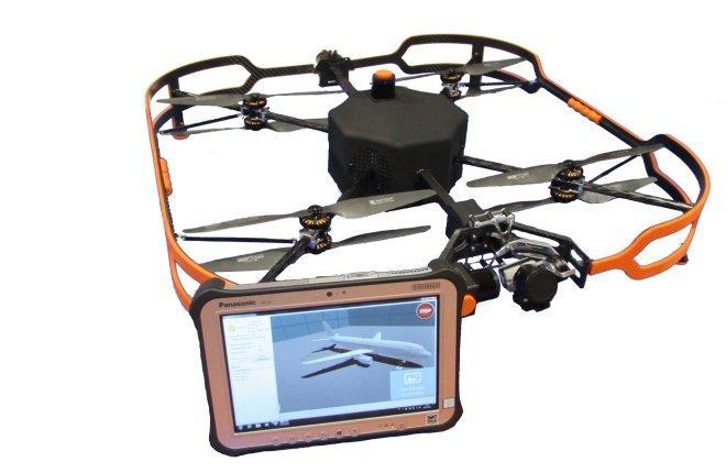 Drone-based, innovative maintenance tool Airbus