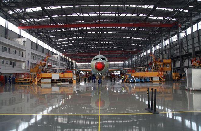 Линия сборки Airbus А320 в Тяньцзине