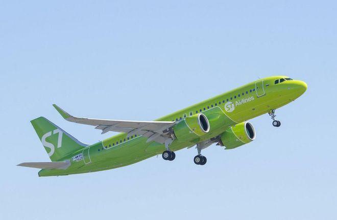 "Airbus A320neo авиакомпании S7 Airlines (""Сибирь"")"
