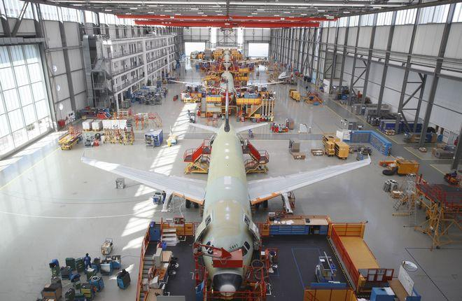 производство Airbus