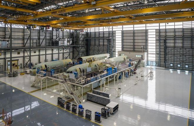 Производственная площадка Airbus A320 в США