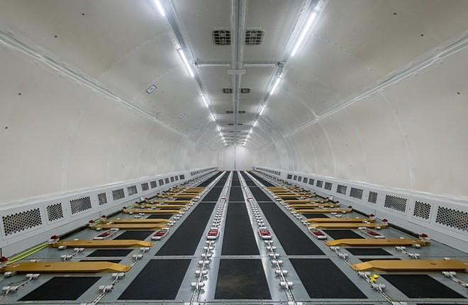 кабина A321F