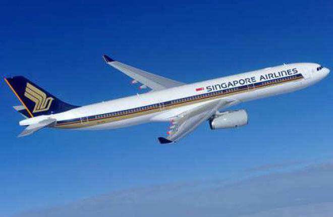 Сингапурская авиакомпания Singapore Airlines заказала 15 самолетов Airbus A330