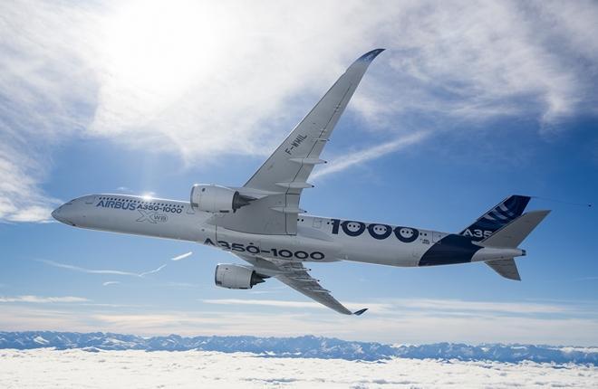 самолет Airbus A350-1000