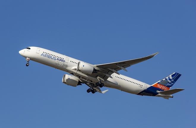 Airbus A350 flightlab