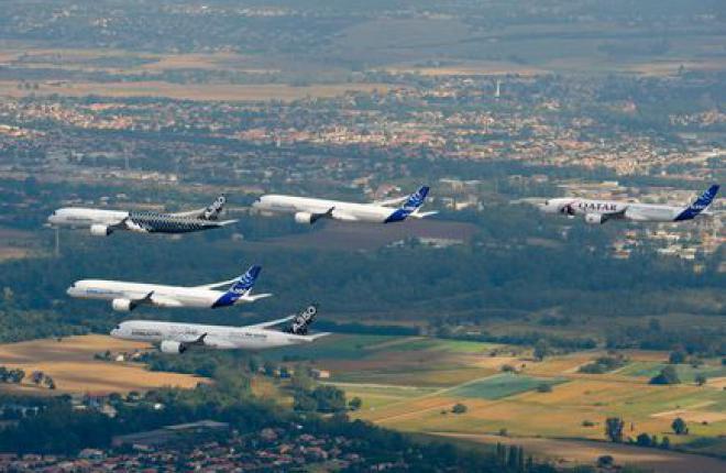 Цены на самолеты Airbus в 2015 году выросли на 3,27%