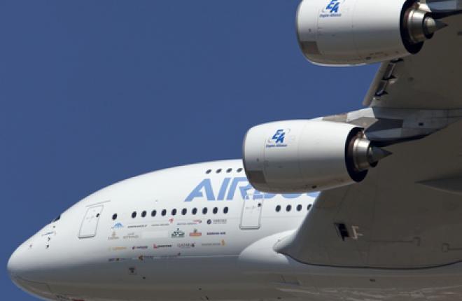Российская Авиакомпания «Трансаэро» заказывает четыре самолета Airbus А380