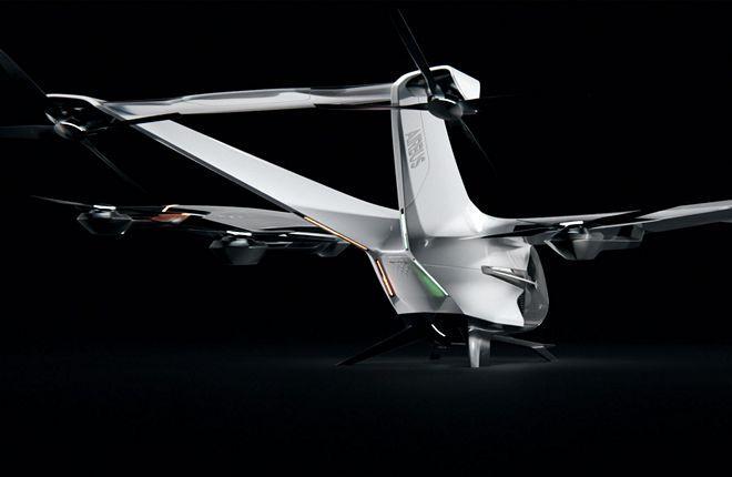 летательный аппарат CityAirbus NextGen