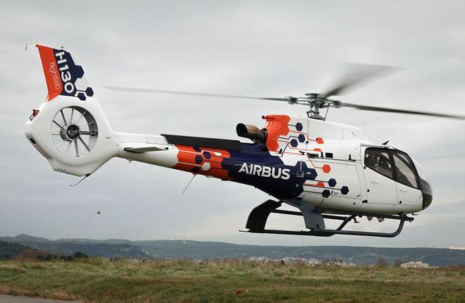 Европейская вертолетостроительная компания Airbus Helicopters продемонстрировала летающую лабораторию Flightlab