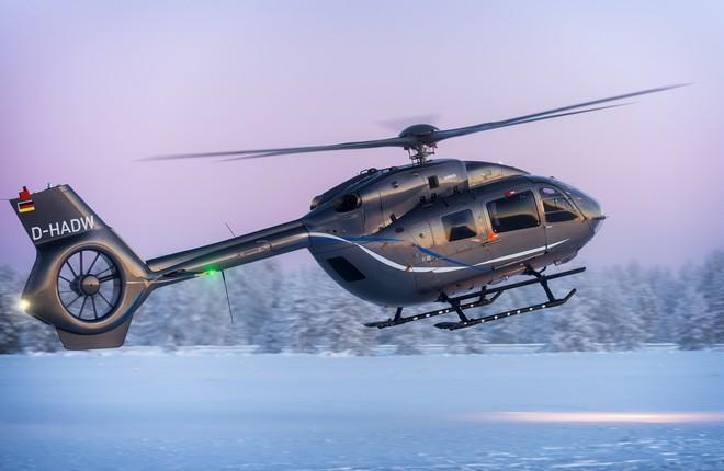 Airbus Helicopters ACH145 с пятилопастным несущим винтом