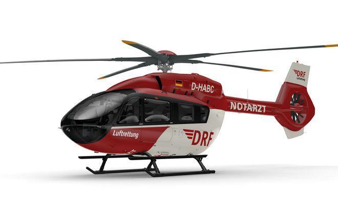 пятилопастный вертолет Airbus H145