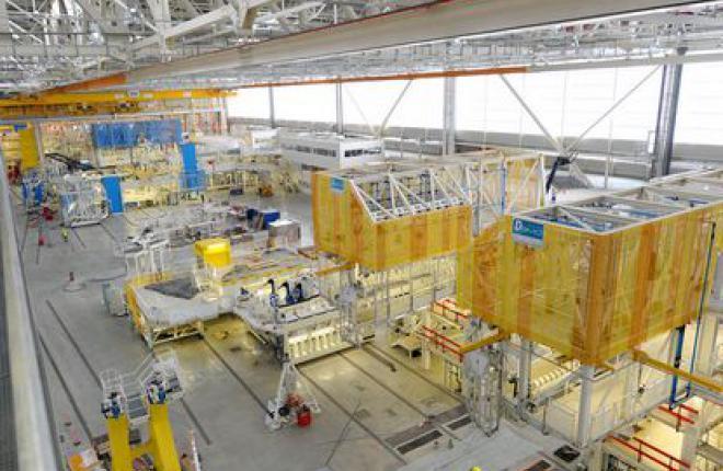 Объем заказов EADS возрос на 63%