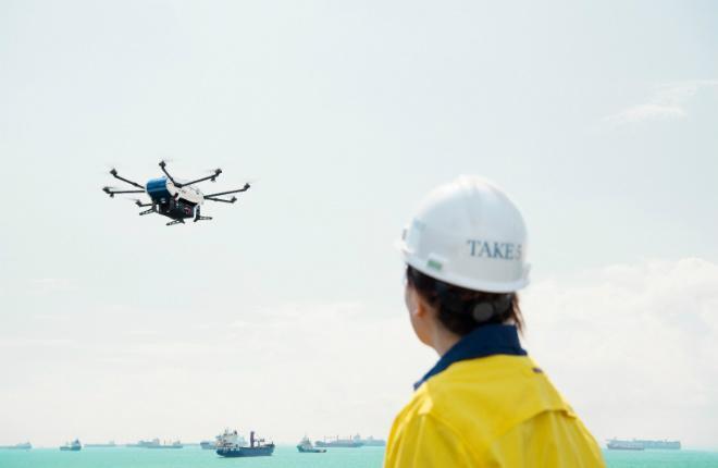 Беспилотный дрон Skyways от Airbus