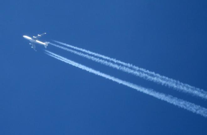 Интенсивность полетов в воздушном пространстве России возросла на 8,54%