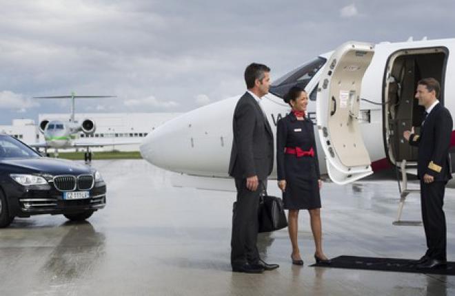 Air France организовала фидерные рейсы на бизнес-джетах