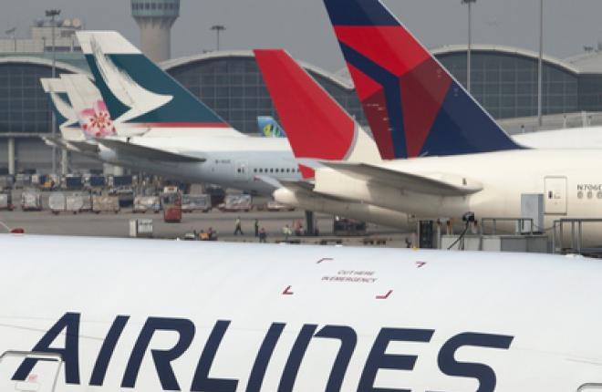 IATA: Рост объема авиаперевозок замедлился в июле 2012 г.