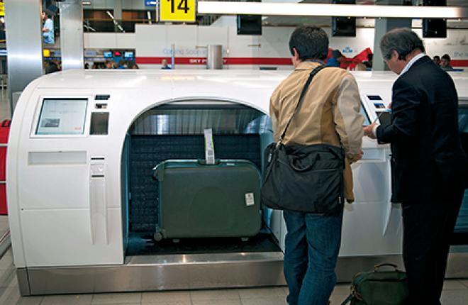 Система автоматического отправления багажа уже работает, в частности, в аэропорту Амстердама, но пассажиры к ней еще не привыкли
