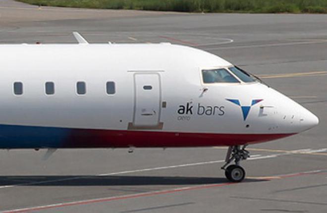 """Авиакомпания """"Ак Барс Аэро"""" получила 12-й самолет CRJ200"""