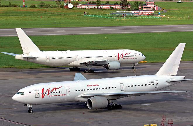 """В расчете на китайский пассажиропоток """"ВИМ-авиа"""" набрала большой парк Boeing 777 :: Алексей Морозов // Transport-Photo.com"""