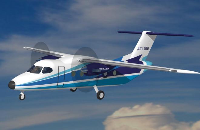 проект самолета ALT100