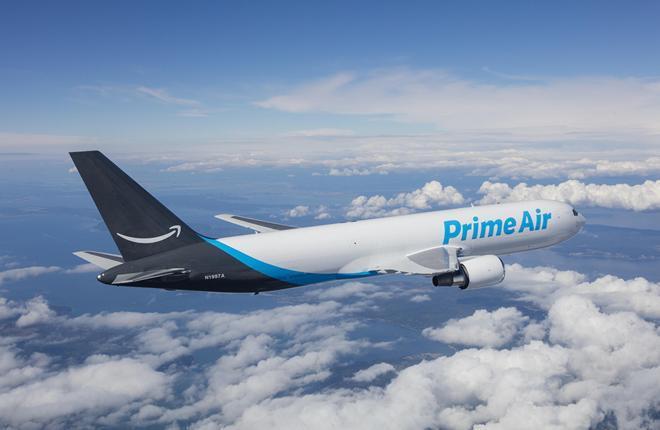 самолет авиакомпании Amazon Air