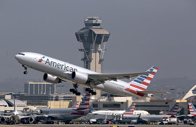 Американские авиакомпании снова побили рекорд по перевозкам