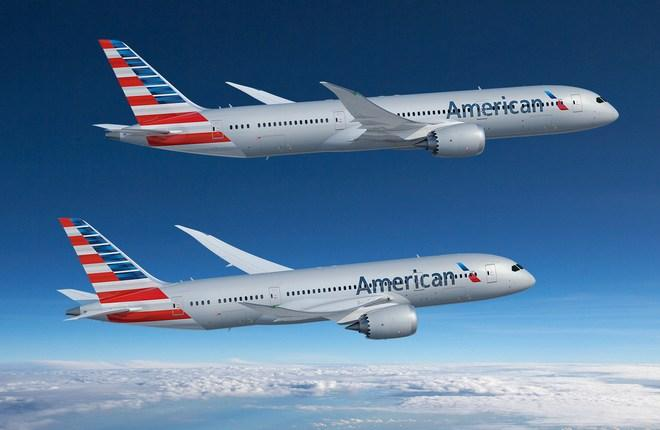 Авиакомпания American Airlines разместила крупный заказ на Boeing 787 и отказалась от Airbus A350