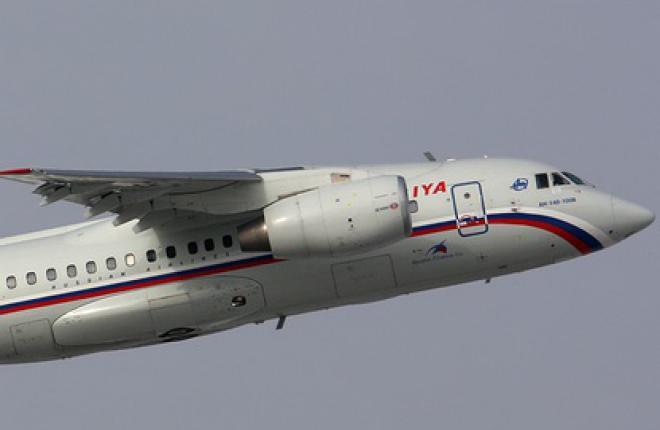 """Авиакомпания """"Россия"""" перекомпонует самолеты Ан-148"""