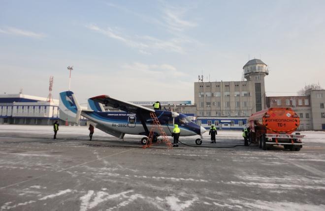 """Магаданская авиакомпания """"СиЛА"""" забазировалась в Томске"""