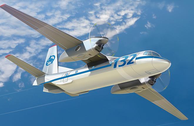 Прототип Ан-132 оснастят винтами Dowty Propellers